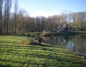 Pêche à la grande truite à l'étang du Rohrkopf