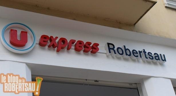 U express Robertsau vient d'ouvrir
