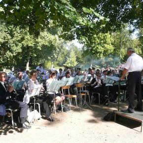 Concert de l'Harmonie Cæcilia à l'Orangerie