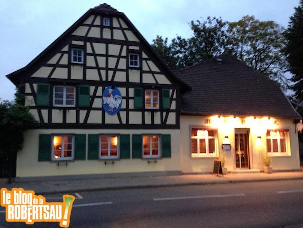 Restaurant Au Coq Blanc Strasbourg