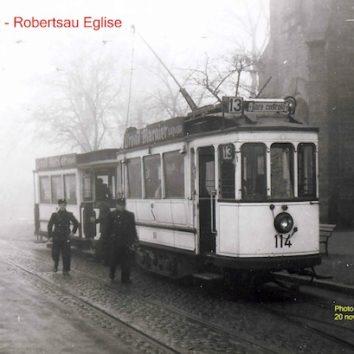 Quand le tramway de la Robertsau allait jusqu'à Ste Anne