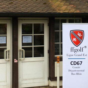 La ligue d'Alsace de Golf a son siège à la Robertsau
