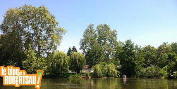 Steingiessen, un parcours en canoë au cœur de la Robertsau à faire d'urgence !