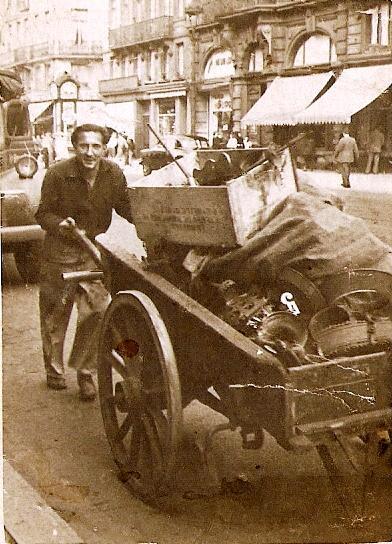 Un chiffonier-ferrailleur du siècle dernier