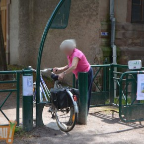 La petite orangerie est-elle accessible aux personnes en fauteuils roulants ?