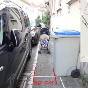 [Dossier] La rue des Jardiniers est vraiment au bord de la crise de nerfs : la preuve par la poussette 2/3