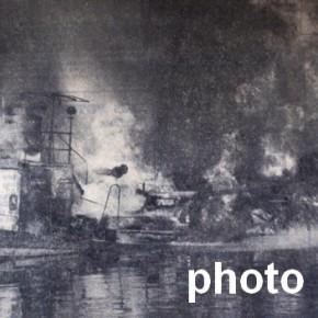 3 septembre 1971 : Un pétrolier explose dans le Port aux Pétroles !
