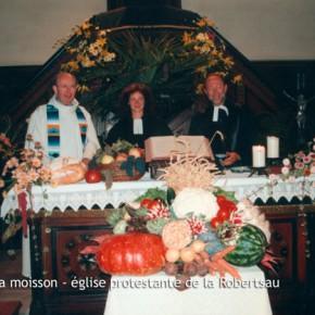 Fête des récoltes de la paroisse protestante