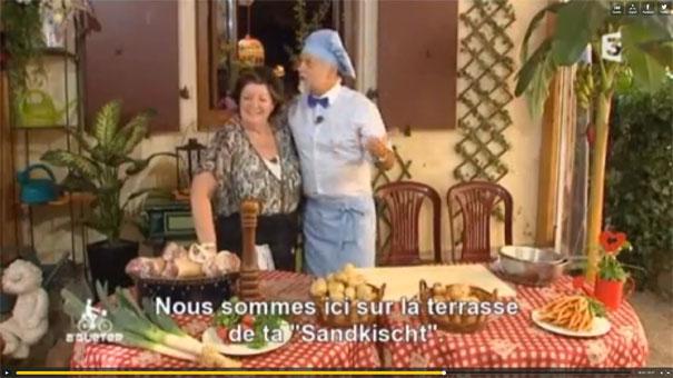 La Sandkischt à l'honneur sur France 3 Alsace