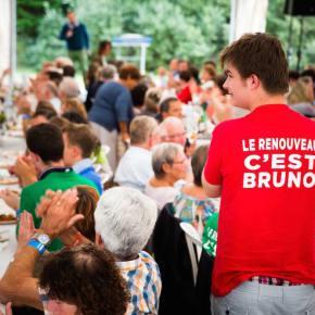 Primaire UMP : Bruno Le Maire à la Robertsau