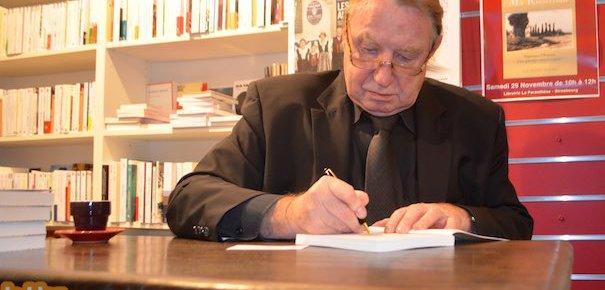 Robert Grossmann en dédicace samedi à la librairie La Parenthèse