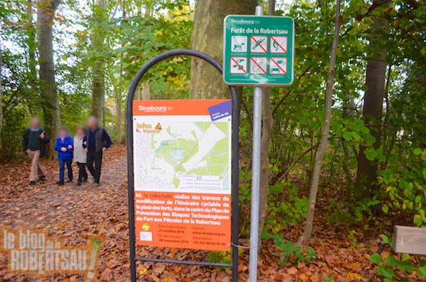 PPRT : une piste cyclable va traverser le parc de Pourtalès