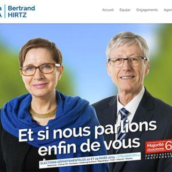 Démocrates et indépendants : Iwona Cichalewska et Bertrand Hirtz
