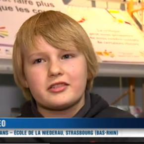Reportage de TF1 à l'école de la Niederau : la Philo à l'école