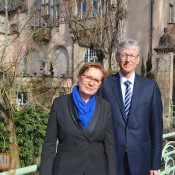 Iwona Cichalewska et Bertrand Hirtz apportent leur soutien à Yves Le Tallec et Françoise Pfersdorff