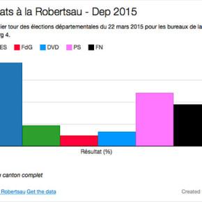 Départementales : les résultats sur la Robertsau et bureau par bureau
