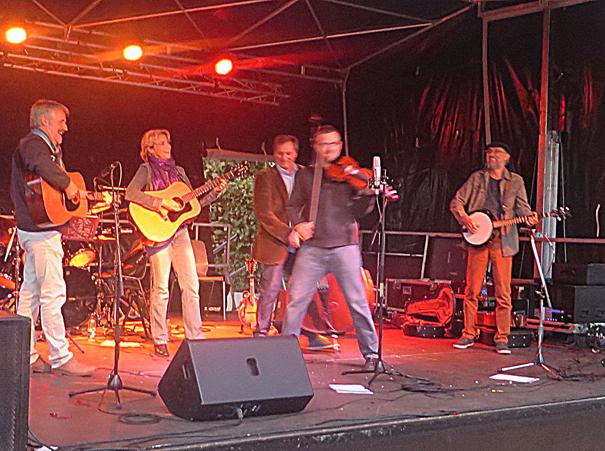 Mart O'Pickers Bluegrass Band - Photo JJ Yobé-Bowen