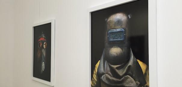 Magnifique exposition Zvardon à l'espace Apollonia : Iron Heroes