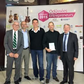 Cap d'Hag reçoit le prix Les Odyssées des Entrepreneurs