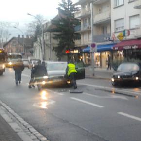 Accident rue Boecklin