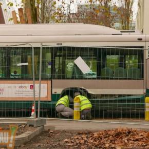 Un bus CTS a-t-il perdu une roue pont de la Rose Blanche ? (MAJ)
