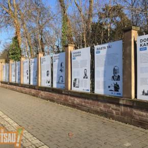 Robert Grossmann s'insurge contre les panneaux sur la clôture du parc Kayserguet