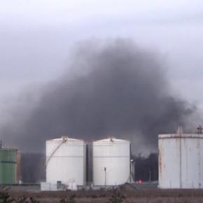 Incendie au Port aux pétroles