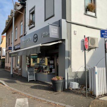 Boulangerie Pâtisserie Kieffer : la façade est en place !