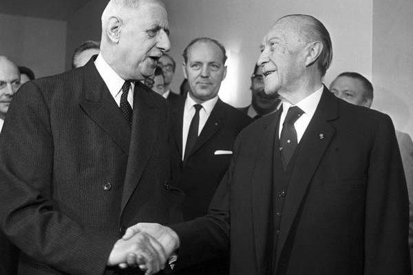 53e anniversaire de la signature du traité de l'Élysée au Lieu d ...