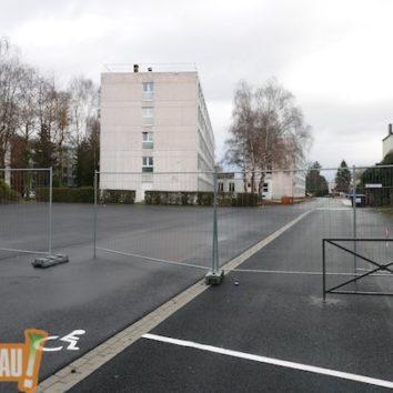 École Européenne qui rit – rue du cdt Reibel qui pleure