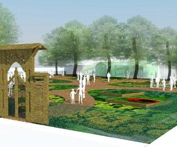 Un jardin participatif et culturel à l'entrée de la Robertsau.