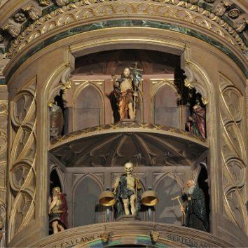 « L'Horloge Astronomique de la cathédrale : le décor et son sens symbolique»