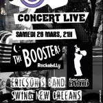 Swing Rock Station Festival – concert live 2016 à Strasbourg
