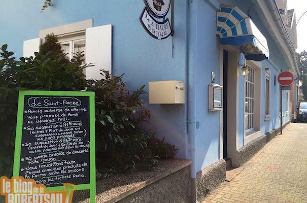 Restaurant Le Saint-Fiacre : c'est frais, c'est bon, c'est sympa et on y retournera