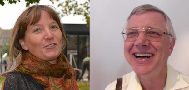 Les pasteurs de la Robertsau, Monika Garruchet et Alain Lentz, sur le départ