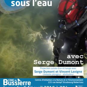 Une nuit sous l'eau le jour des poissons au CINE de Bussierre