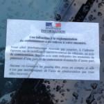 Ça verbalise à tout va rue du Commandant Reibel : merci l'école européenne !