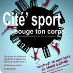 Fête du sport «Cité' Sport, bouge ton corps» le 15 avril à la Cité de l'Ill