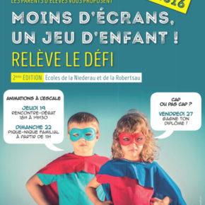 Une initiative de parents d'élèves : moins d'écrans, un jeu d'enfant !