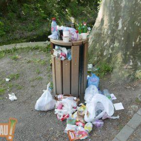 Une poubelle un peu plus grande au Parc de Pourtalès ? Non ?