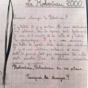 MAJ: Lettre d'une collégienne des années 90 sur la Robertsau