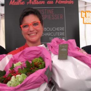 Médaille du mérite agricole à Christine Spiesser : reportage vidéo