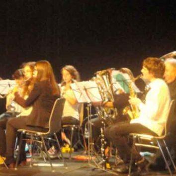 École de musique de l'orchestre d'harmonie cherche musicien pour vivre passion commune