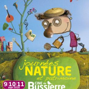 Journées Nature et Patrimoine2016  au CINE de Bussierre