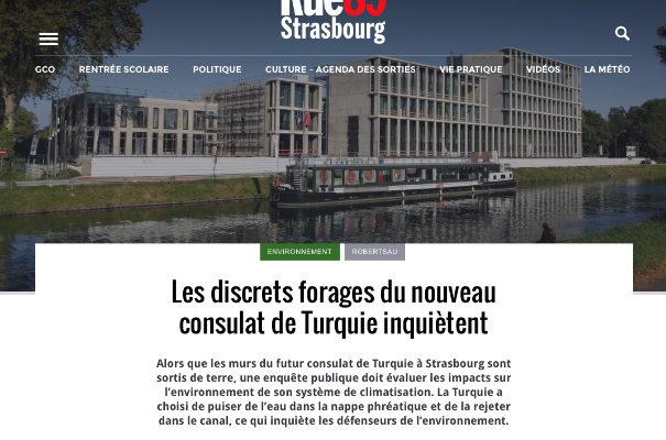 Consulat de Turquie : de bien inquiétants travaux de forage