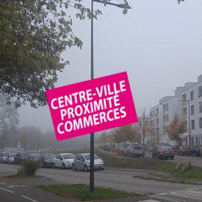 Un centre-ville imaginaire pour appâter les séniors