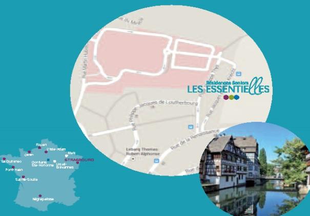 Ah bon, la Petite France est à la Robertsau ?