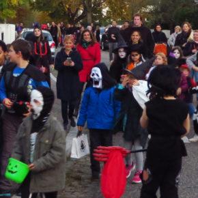 """""""Halloween parade""""  à la Cité des Chasseurs"""