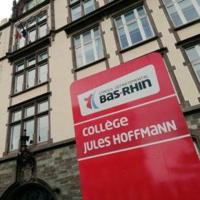Inauguration du collège Jules Hoffmann
