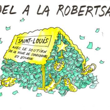 Hommage : Soyons Charlie à la Robertsau